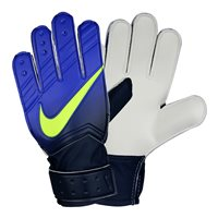Nike Jr. Match Goalkeeper Football Glove -  Royal/Volt