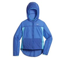 Nike Girls Impossible Light Running Jacket -  Royal/Sky