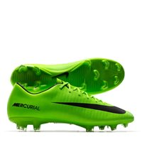 Nike Mercurial Victory VI (FG) Firm Ground Footb -  Electric Green/Black