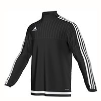 Adidas Adidas Tiro 15 Training Top - Black/White