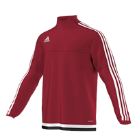 Adidas Tiro15 TRG Top Yth - Red