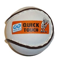 Core GAA Quick Touch Sliotar - White