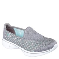 Skechers Womens Go Walk 4 - Kindle - GRY Grey