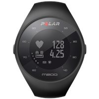 Polar M200 GPS Running Watch with Wrist HR - Black