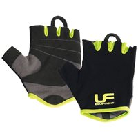 UFE Urban Fitness Fitness Gloves - Black/Volt
