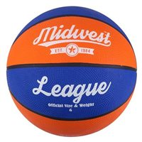 MidWest League Basketball - Royal/Orange
