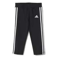 Adidas Girls GU 3/4 Tights - Black/White