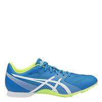 Asics Mens Hyper MD 6 Running Spikes -  Diva Blue/White/Yellow