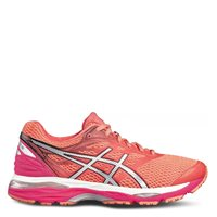 Asics Womens Gel Cumulus 18 -  Pink/Silver/Coral Pink