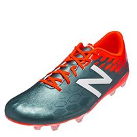 New Balance Kids Visaro 2.0 Control FG Football Boots - Grey/Orange