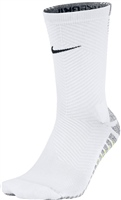 Nike NIKEGRIP Strike Light Crew Football Sock -  White/Grey/Volt