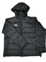 Briga Coach Jacket  (Detachable Hood) - Black