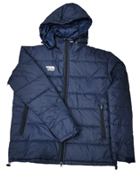 Briga Coach Jacket  (Detachable Hood) - Navy