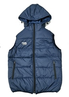 Briga Body Warmer Gillet (Detachable Hood) - Navy