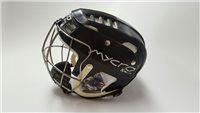 Mycro Plain Hurling Helmet - Black