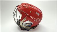 Mycro Plain Hurling Helmet - Red