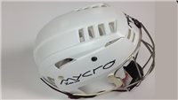 Mycro Plain Hurling Helmet - White