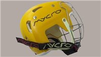 Mycro Plain Hurling Helmet - Yellow
