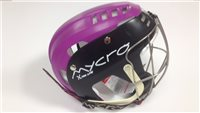 Mycro Two Tone Hurling Helmet - Black/Purple
