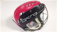 Mycro Two Tone Hurling Helmet - Black/Red