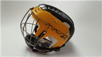Mycro Two Tone Hurling Helmet - Black/Yellow
