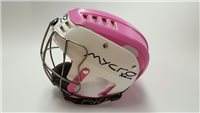 Mycro Two Tone Hurling Helmet - Pink/White