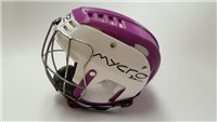 Mycro Two Tone Hurling Helmet - Purple/White