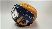 Mycro Two Tone Hurling Helmet - Yellow/Royal