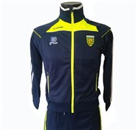 ONeills Donegal Aston Full Zip Poly Jacket - Marine/Flo Yel/Silver