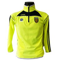 ONeills Donegal Aston Half Zip Squad Top - Flo.Yellow/Marine/Silver