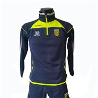 ONeills Donegal Aston Half Zip Squad Top - Marine/Flo Yel/Silver