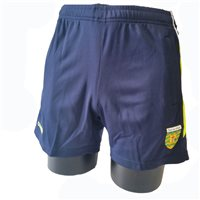 ONeills Donegal Aston Poly Training Short - Marine/Silver/Flo.Yel
