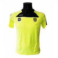 ONeills Donegal Aston T-Shirt - Flo.Yellow/Marine/Silver