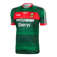 ONeills Mayo GAA Home Jersey 2017 - Green/Red