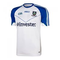 ONeills Monaghan GAA Home Jersey - White/Royal