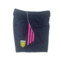 ONeills Ladies Donegal Aston Poly Training Short - Marine/Flo.Pink/White