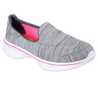 Skechers Girls Go Walk 4 - Satisfy - GRY Grey