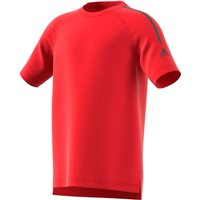 Adidas Boys TR Cool Training Tee - Red