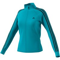 Adidas Womens D2M Track Top - Cyan