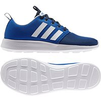 Adidas Mens Cloudfoam Swift Racer - Royal/Navy/White