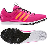 Adidas Kids Allroundstar Running Spikes - Pink/Orange