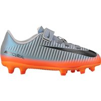 Nike Kids Mercurial VRTX3 (V) CR7 FG -  Cool Grey/Orange/Black