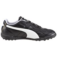 Puma Classico Turf Trainers -  Black/White/Gold