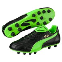 Puma Esito Classico Firm Ground Boots -  Black/Green/Gold