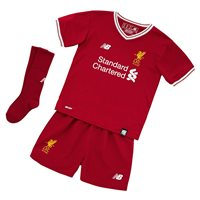 New Balance Liverpool Home Infant Kit 17/18 - Red