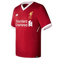New Balance Liverpool Home Jersey 17/18 Kids - Red