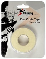 Precision Training Zinc Oxide Tape 25mm x 10m - White