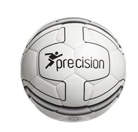 Precision Cordino Lite Match Football 370g - White/Black