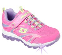 Skechers Girls 5 Lights - Skech Airlites - NPLV Pink/Lavendar