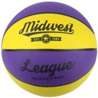 MidWest League Basketball - Yellow/Purple